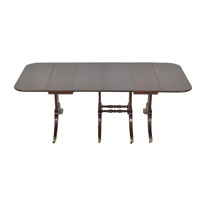 Brandt Furniture Brandt Furniture Drop-Leaf Extendable Dining Table second hand