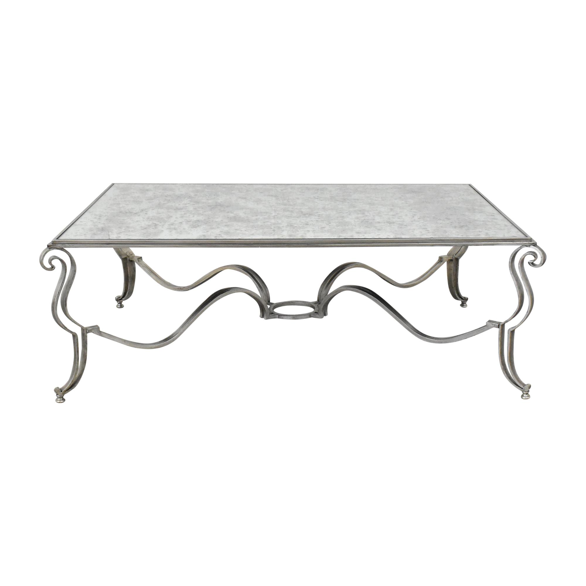 Custom Mirrored Coffee Table nj
