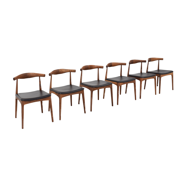 Organic Modernism Organic Modernism Skandy Dining Chairs Chairs
