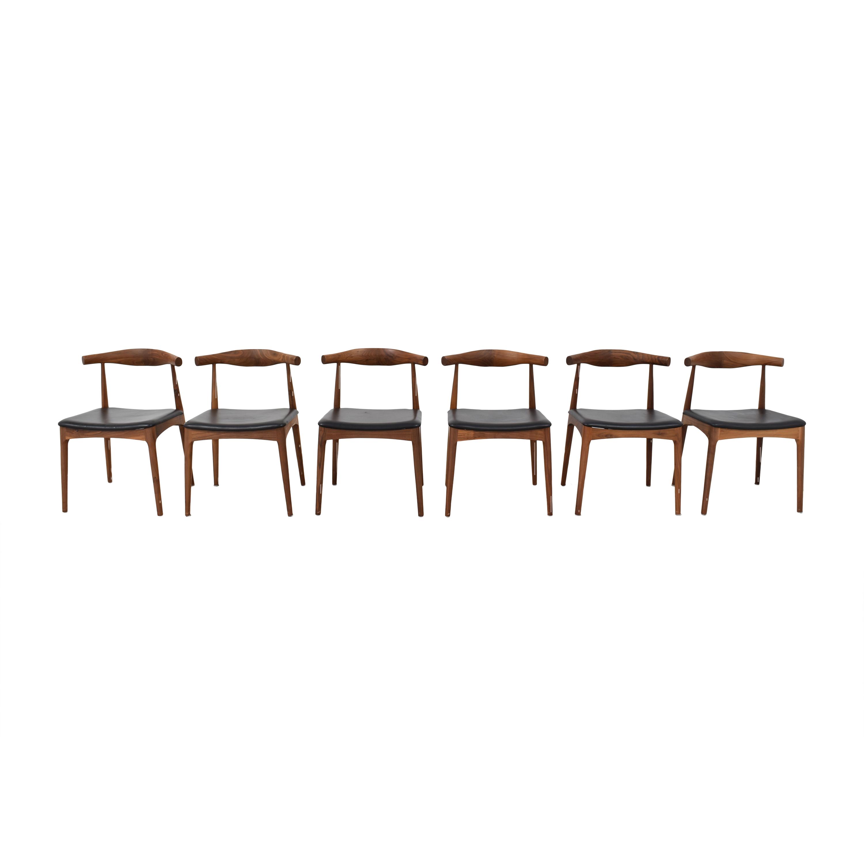 shop Organic Modernism Skandy Dining Chairs Organic Modernism