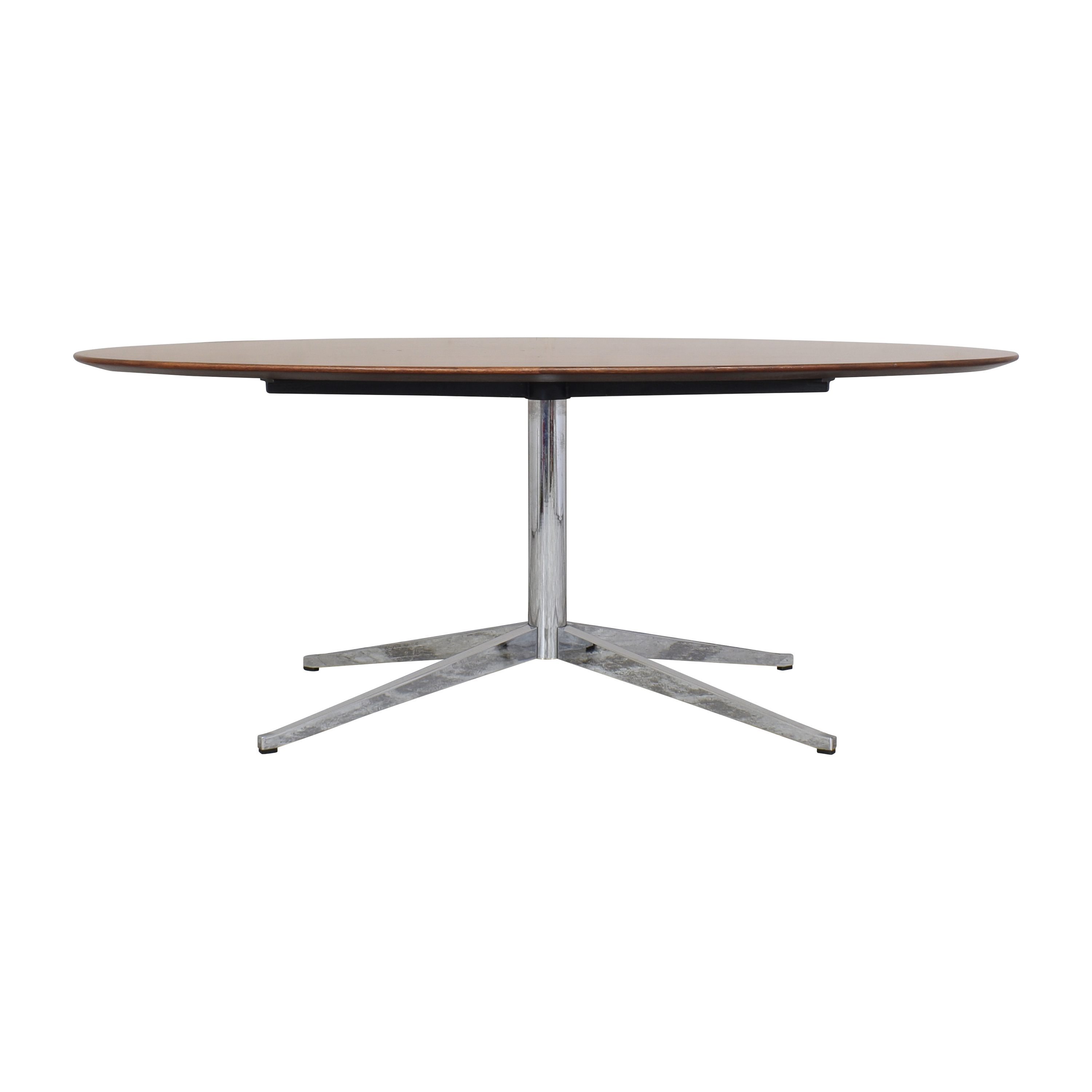 Knoll Florence Knoll Oval Table Desk for sale