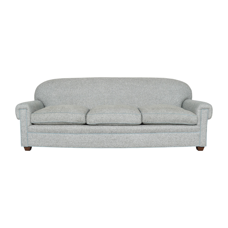 De Angelis Three Cushion Sofa De Angelis