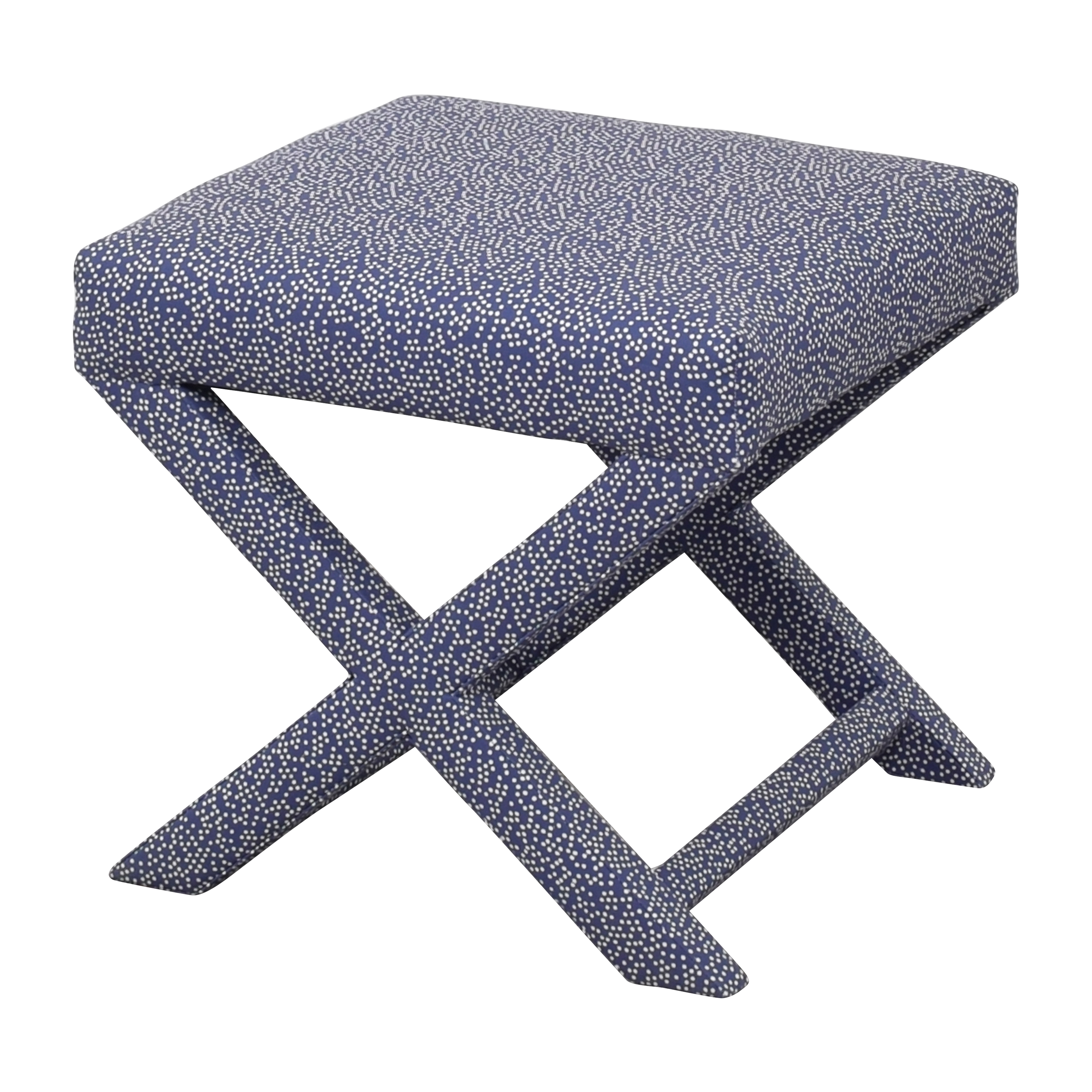 The Inside The Inside Scattered Dot X Bench  on sale