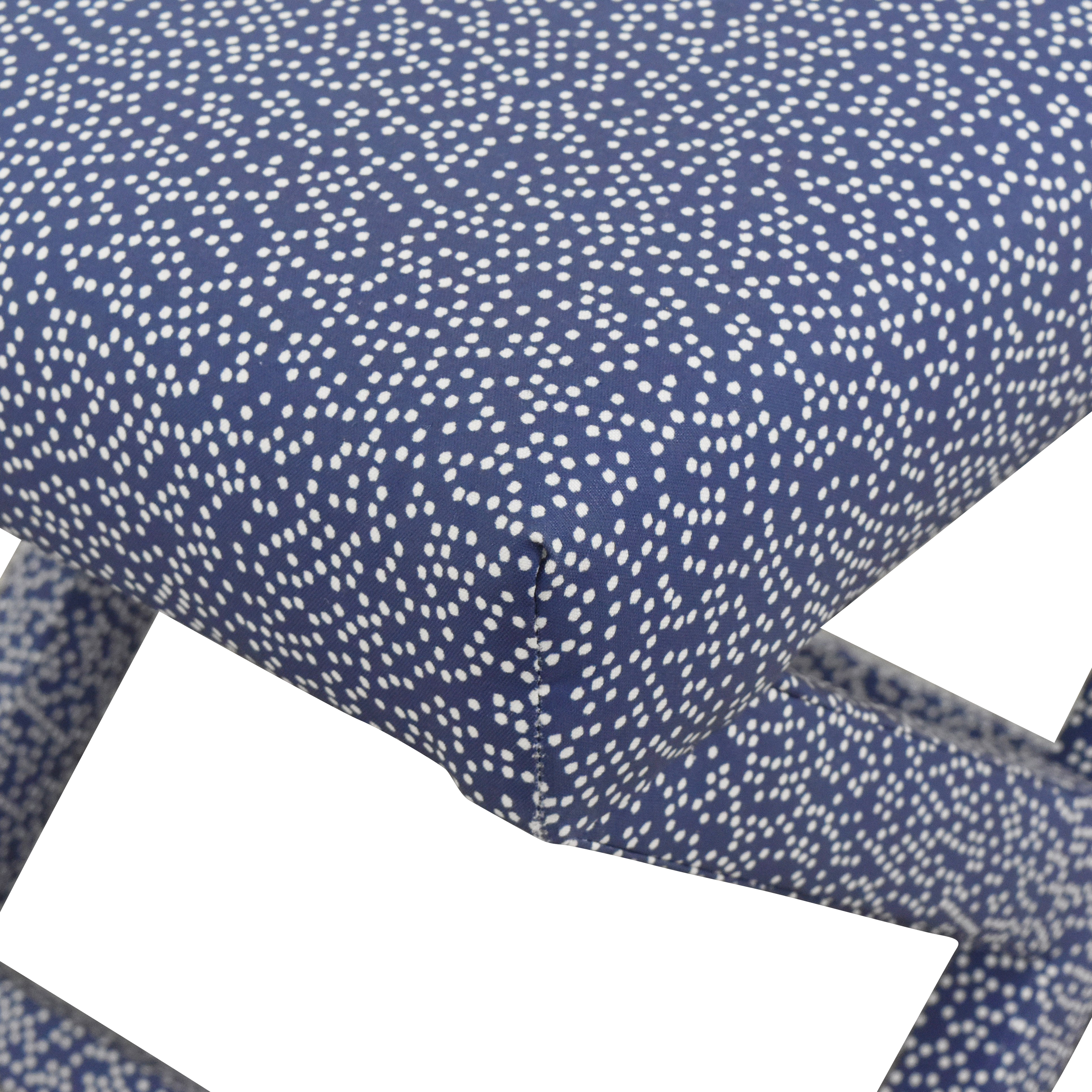 buy The Inside Scattered Dot X Bench  The Inside Stools