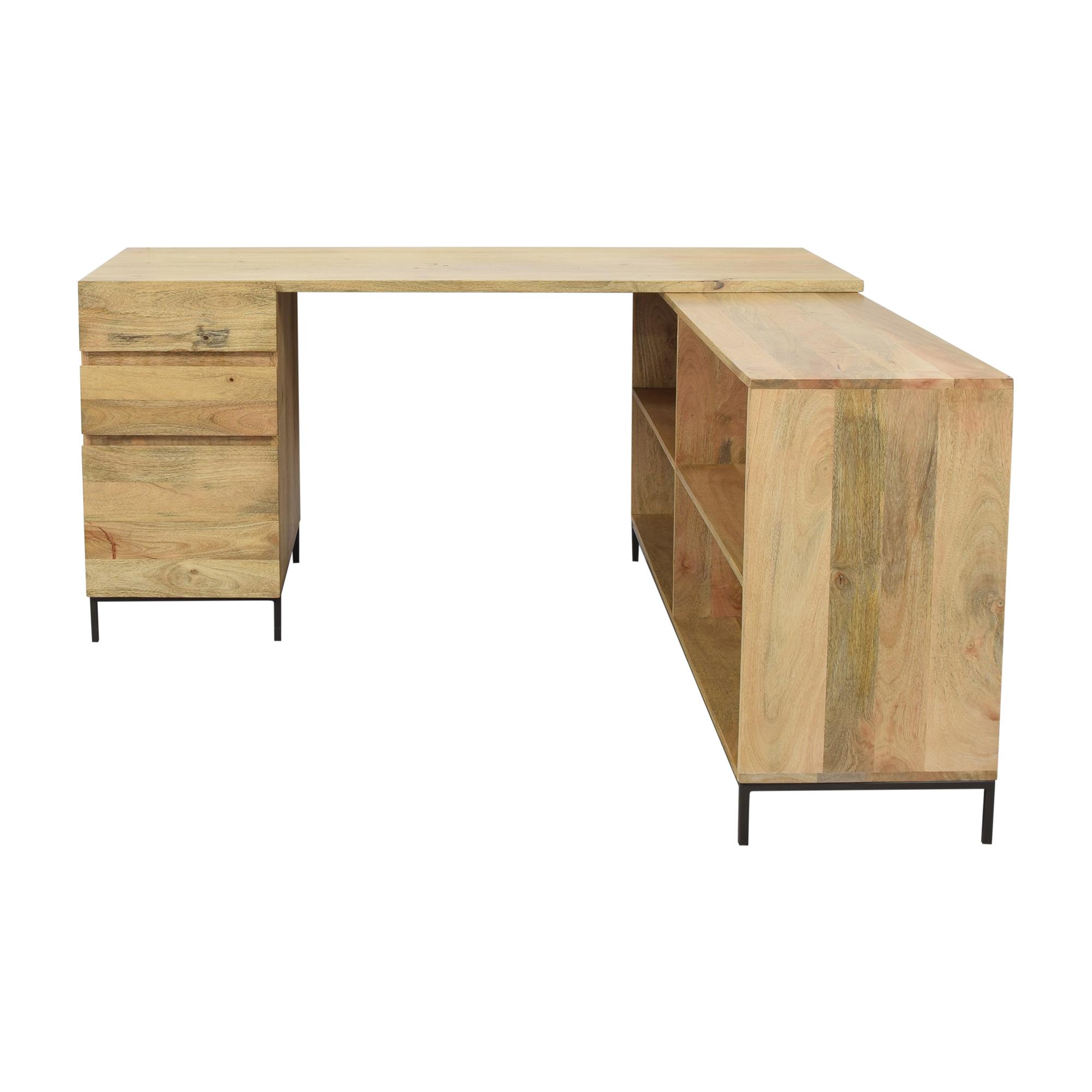 West Elm West Elm Industrial Modular Desk Set for sale