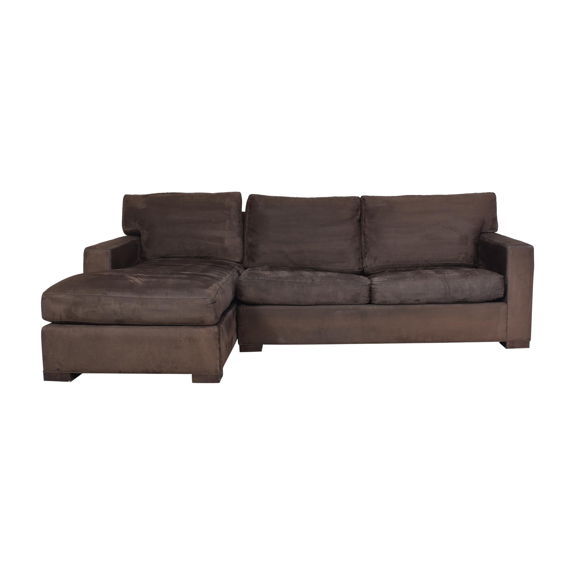 Crate & Barrel Crate & Barrel Axis Sectional Sleeper Sofa second hand
