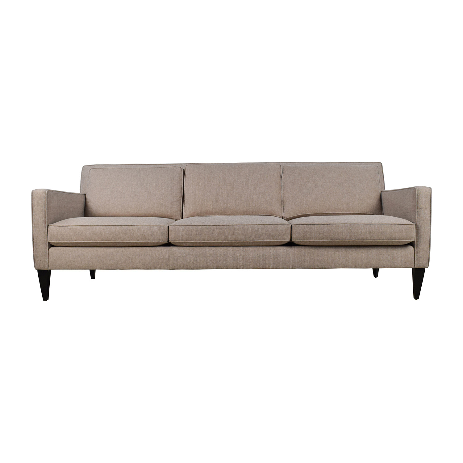 Crate and Barrel Crate & Barrel Rochelle Desert Sofa