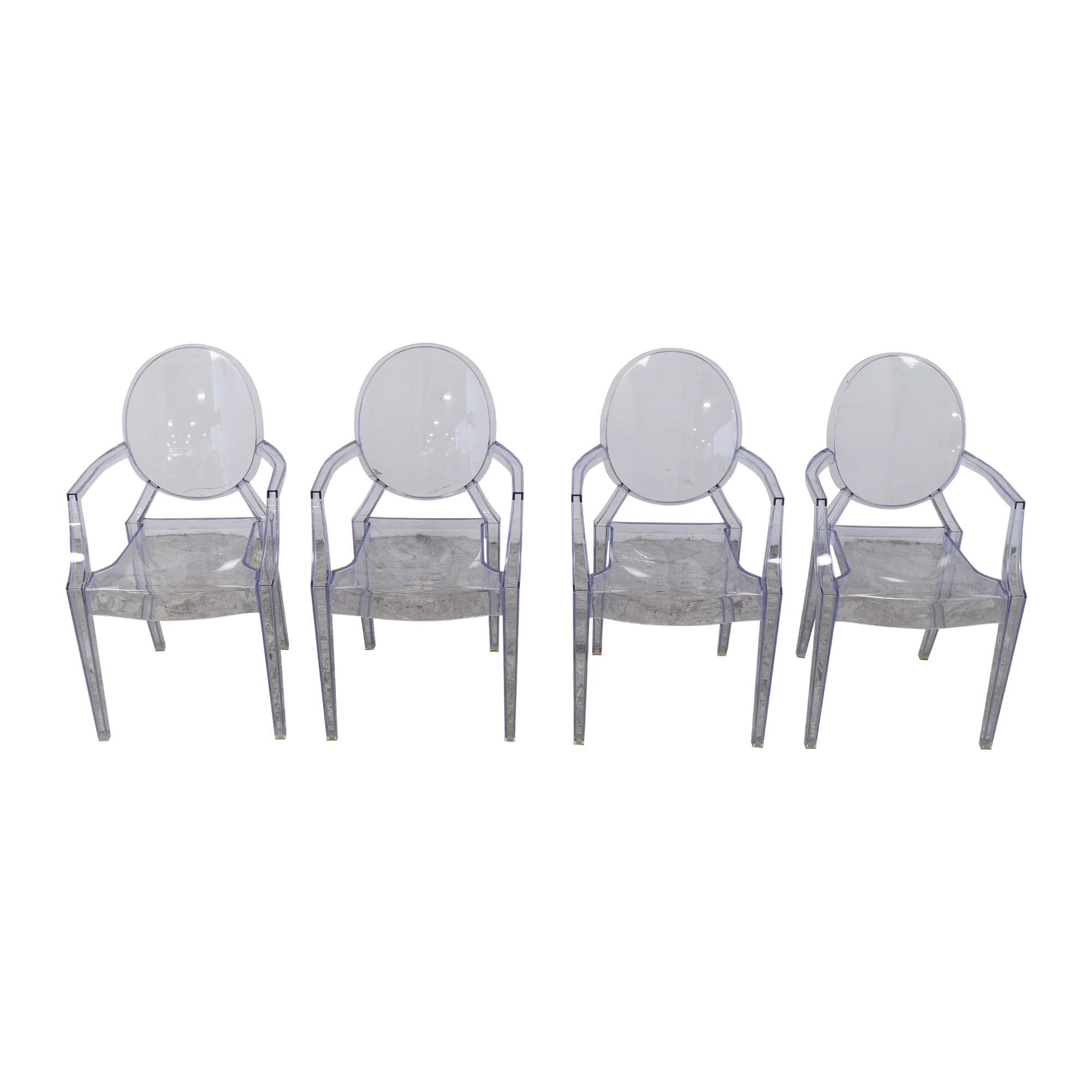 Kartell Kartell Louis Ghost Chairs Blue