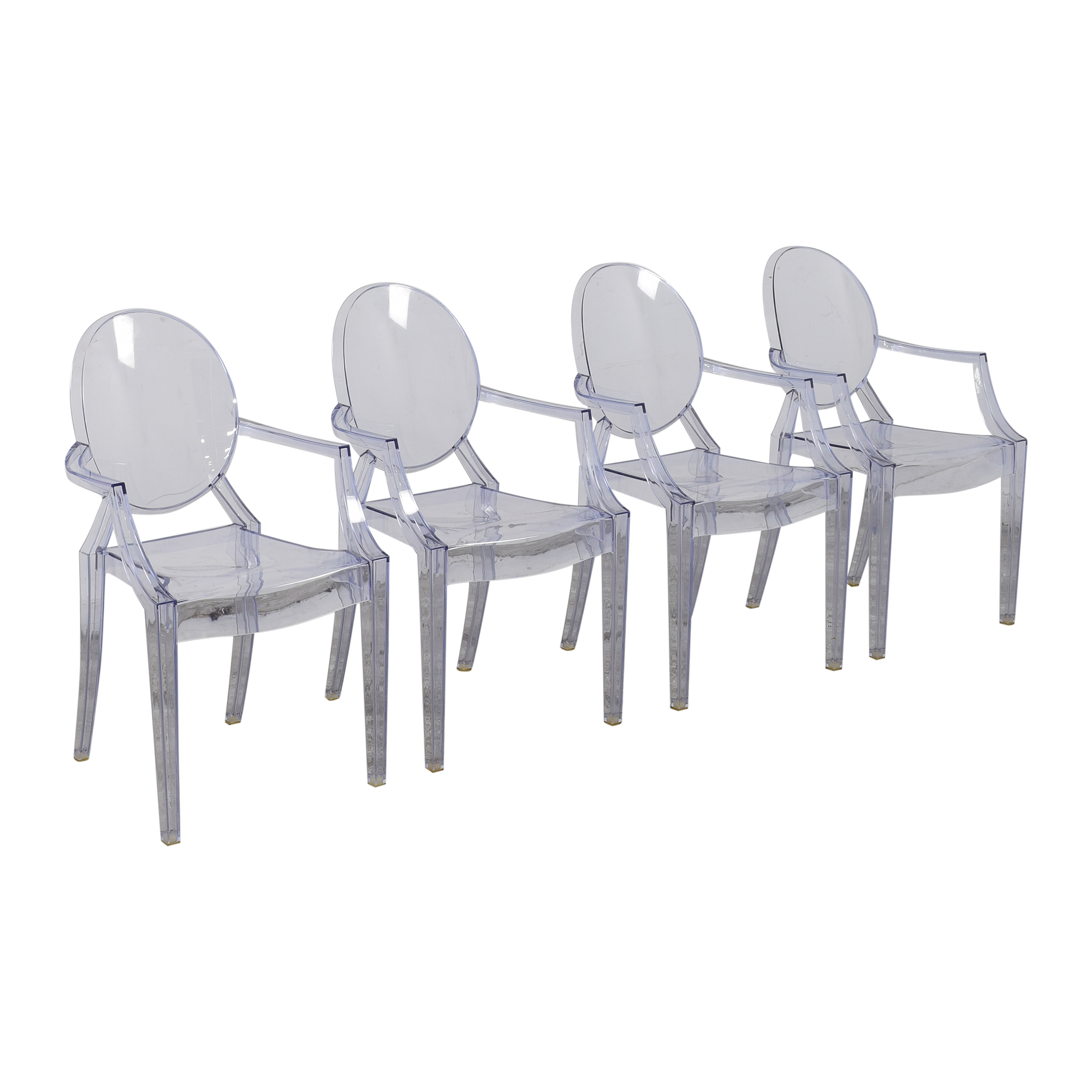 Kartell Kartell Louis Ghost Chairs pa