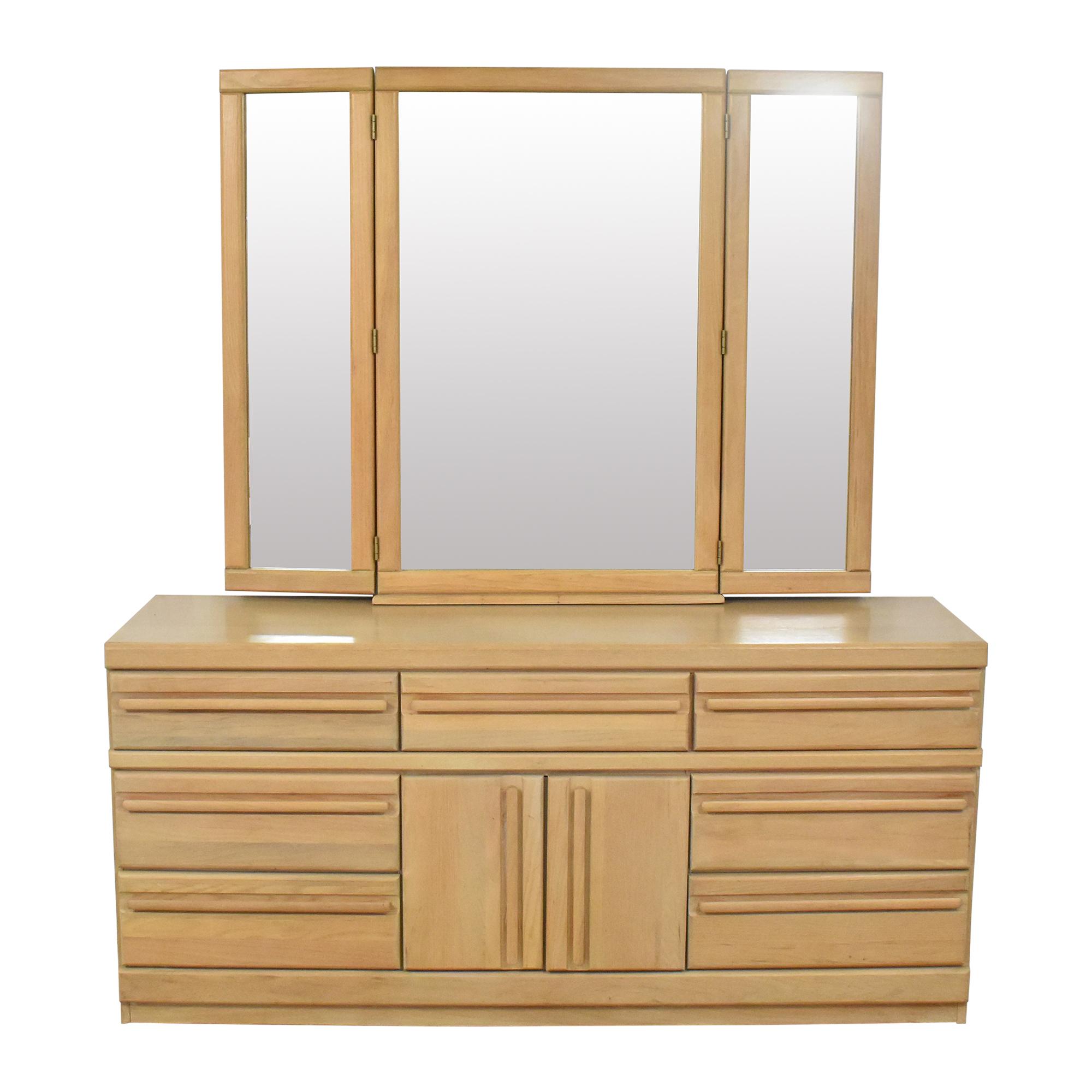 Broyhill Furniture Broyhill Triple Dresser with Mirror price