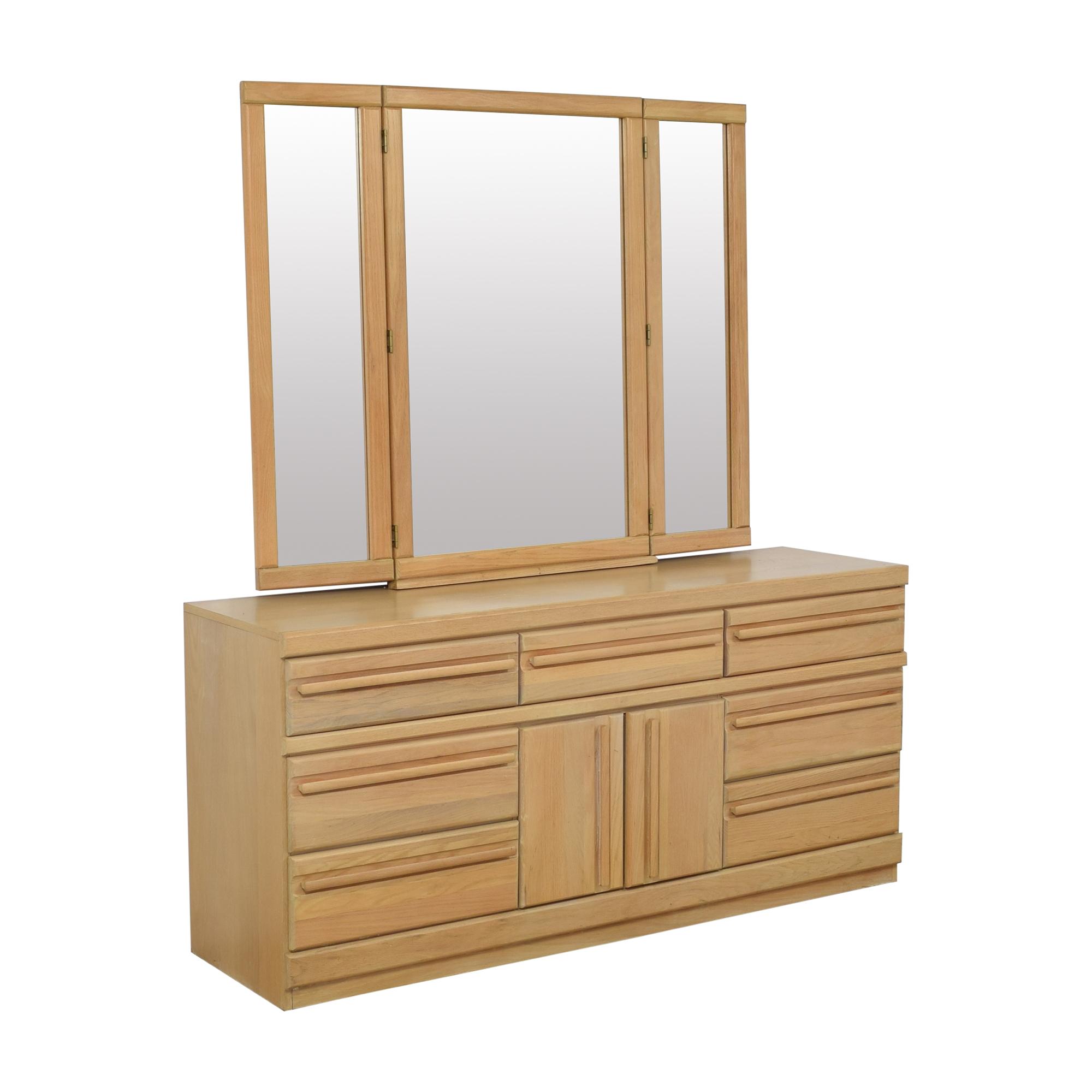 buy Broyhill Furniture Broyhill Triple Dresser with Mirror online