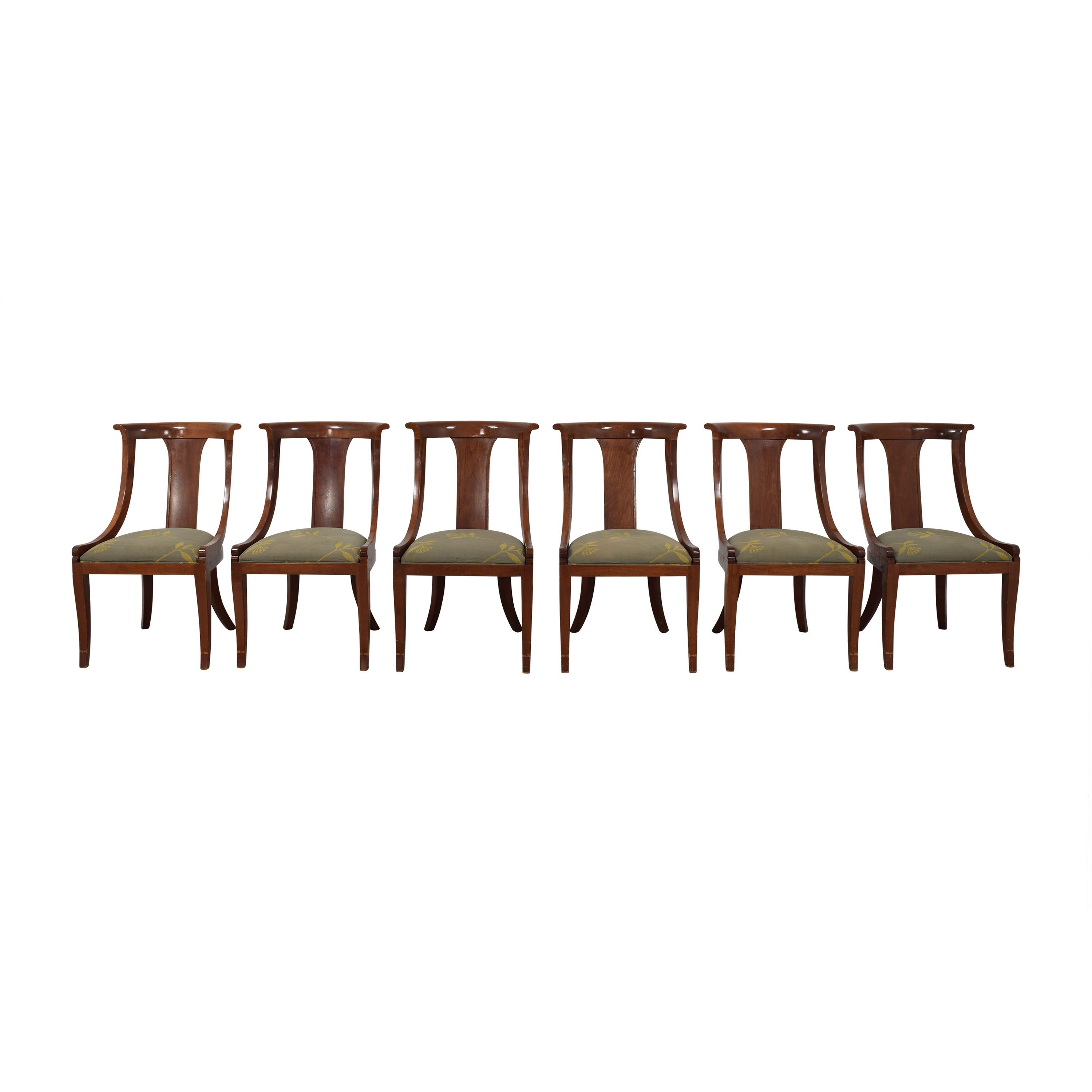 Stickley Furniture Directoire Dining Side Chairs sale
