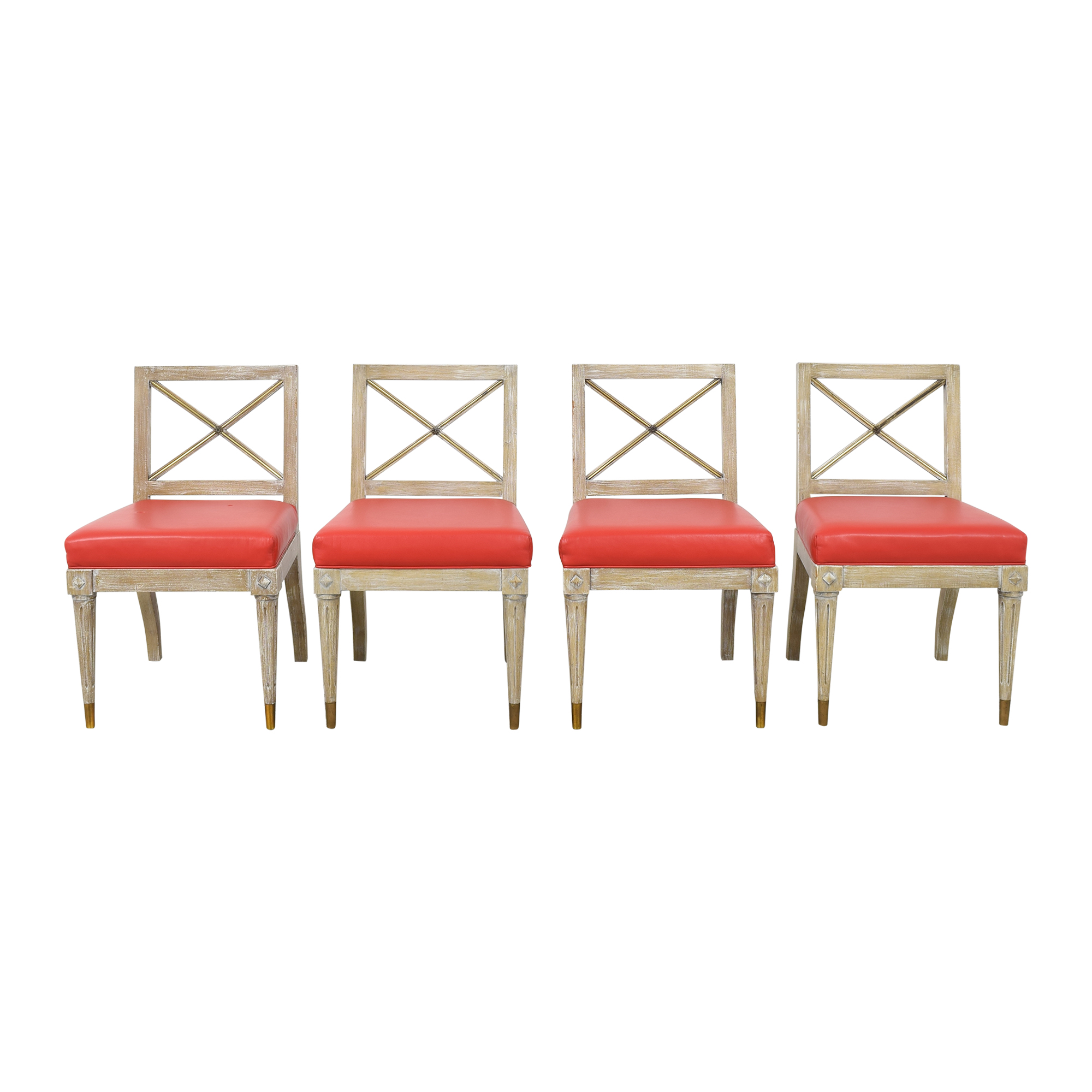Regency Style Dining Side Chairs used