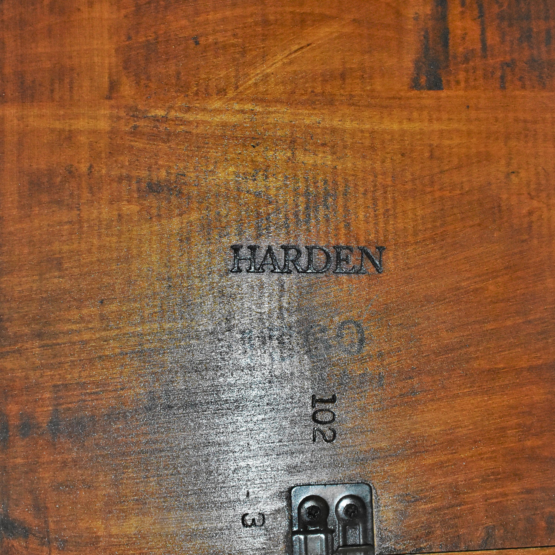 buy Harden Harden Bristol Channel Lattice Top Dining Table online