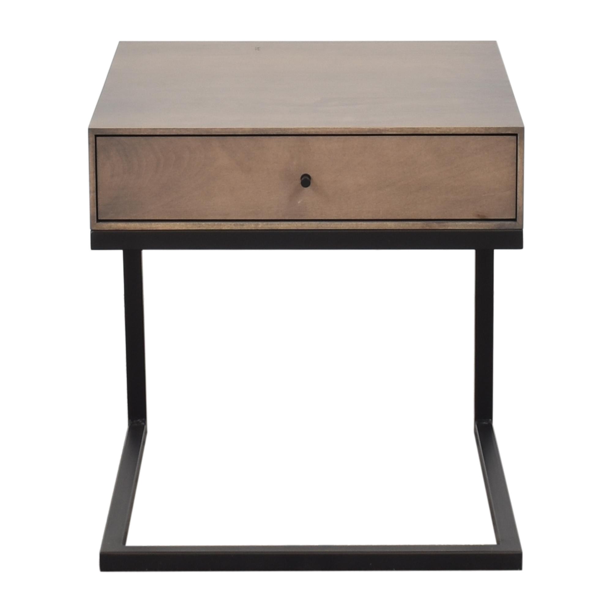 Room & Board Room & Board Hudson C-Table Nightstand nyc