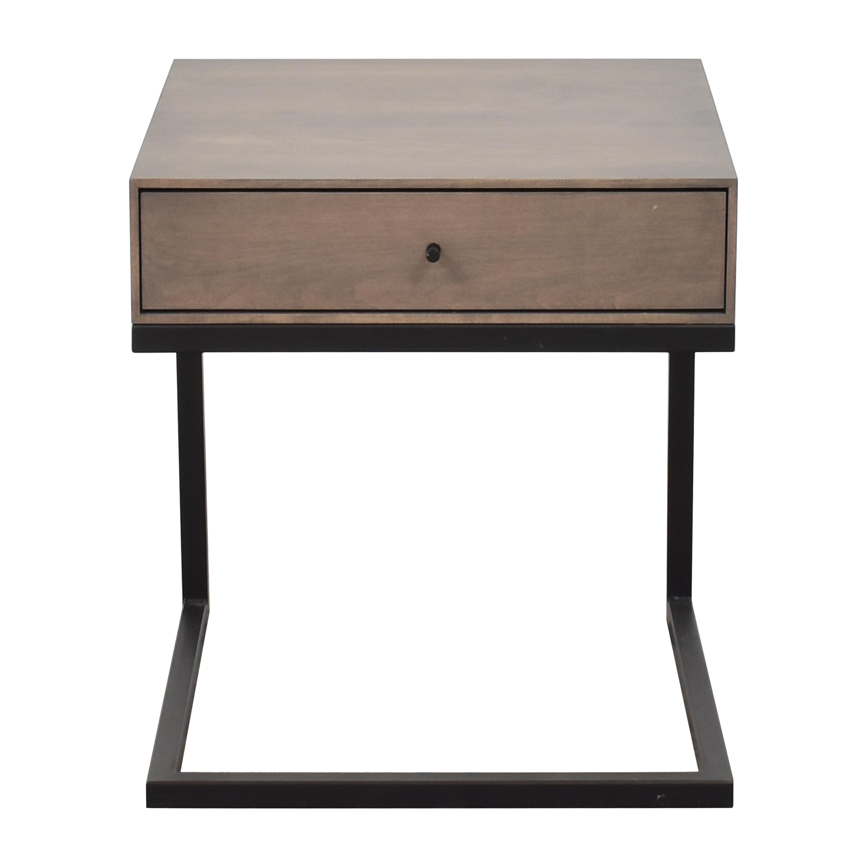 buy Room & Board Hudson C-Table Nightstand Room & Board