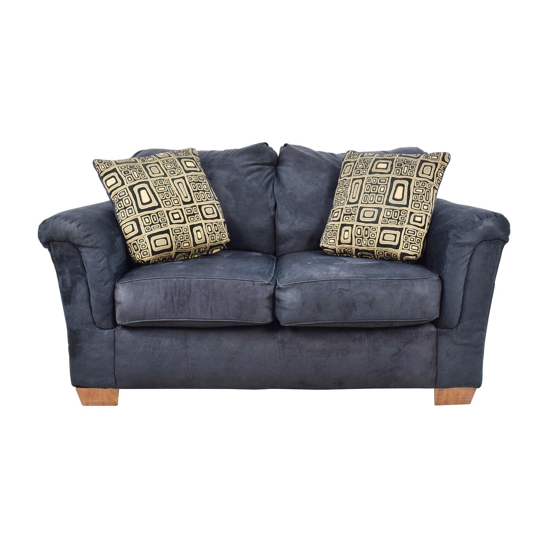 Ashley Furniture Black LoveSeat / Loveseats