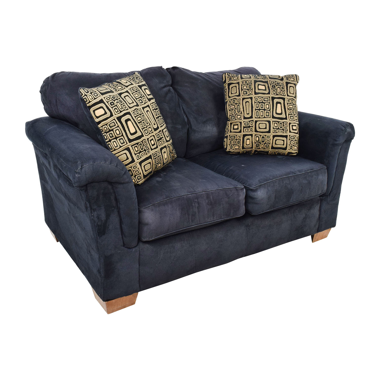 81 Off Ashley Furniture Ashley Furniture Black Loveseat Sofas