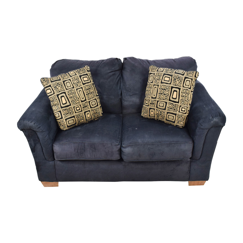 shop Ashley Furniture Black LoveSeat Ashley Furniture Sofas