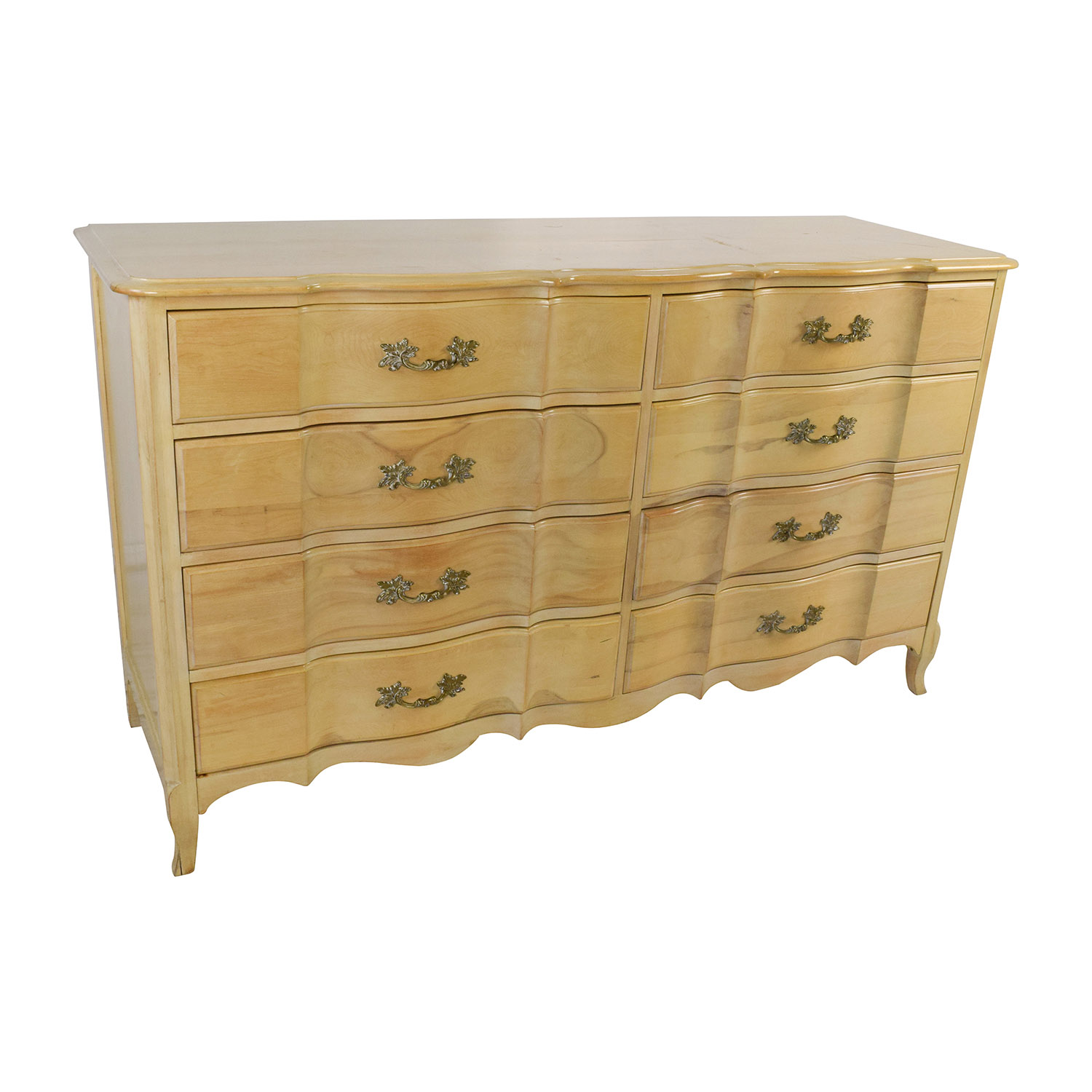 Dresser Dimensions 70% off - light wood dovetailed 8-drawer dresser / storage