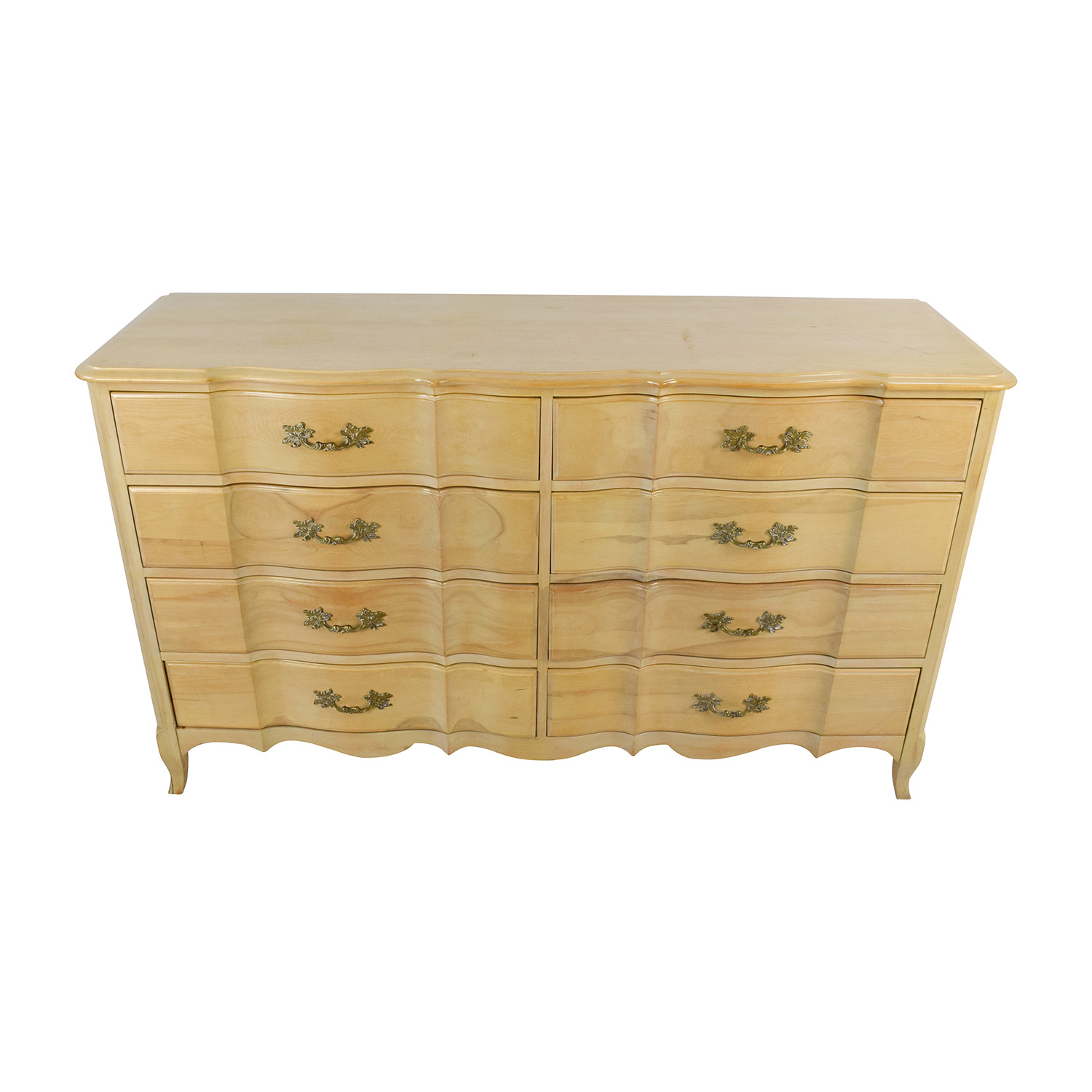 buy Light Wood Dovetailed 8-Drawer Dresser Storage