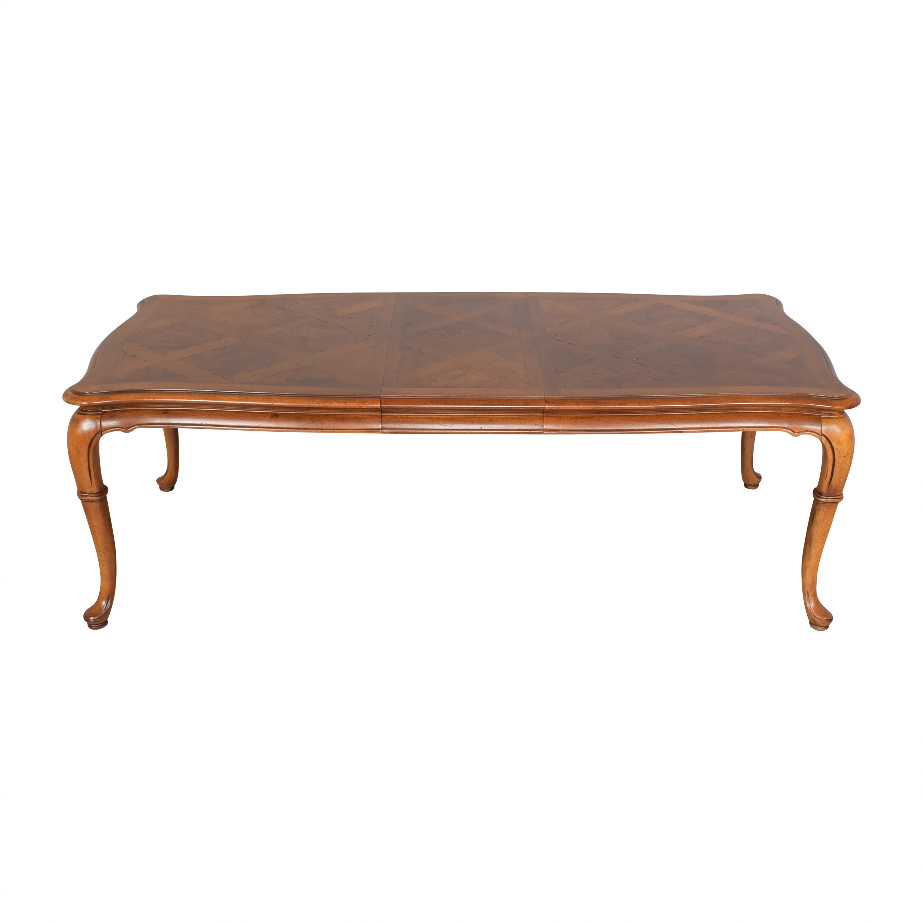 buy Thomasville Thomasville Parquet Top Extendable Dining Table online