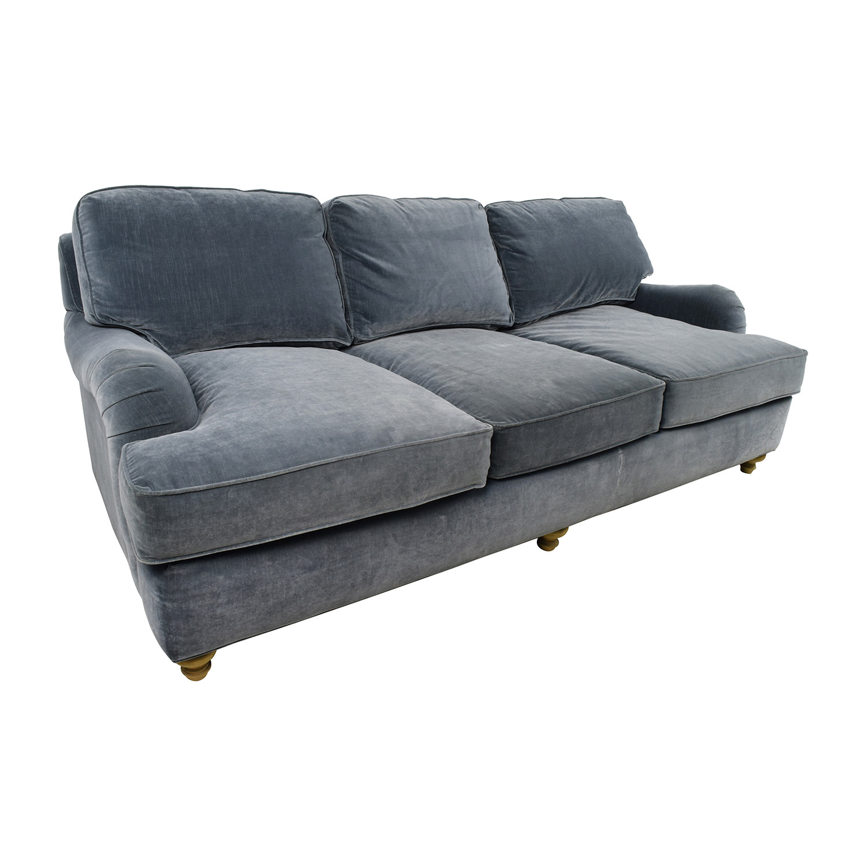 English Roll Arm Sofa: Restoration Hardware Restoration Hardware