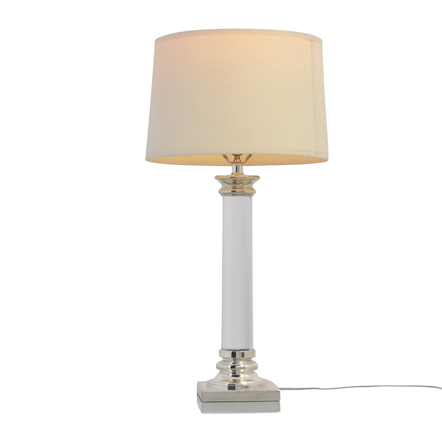 Restoration Hardware Restoration Hardware Glass Bedside Table Lamps coupon