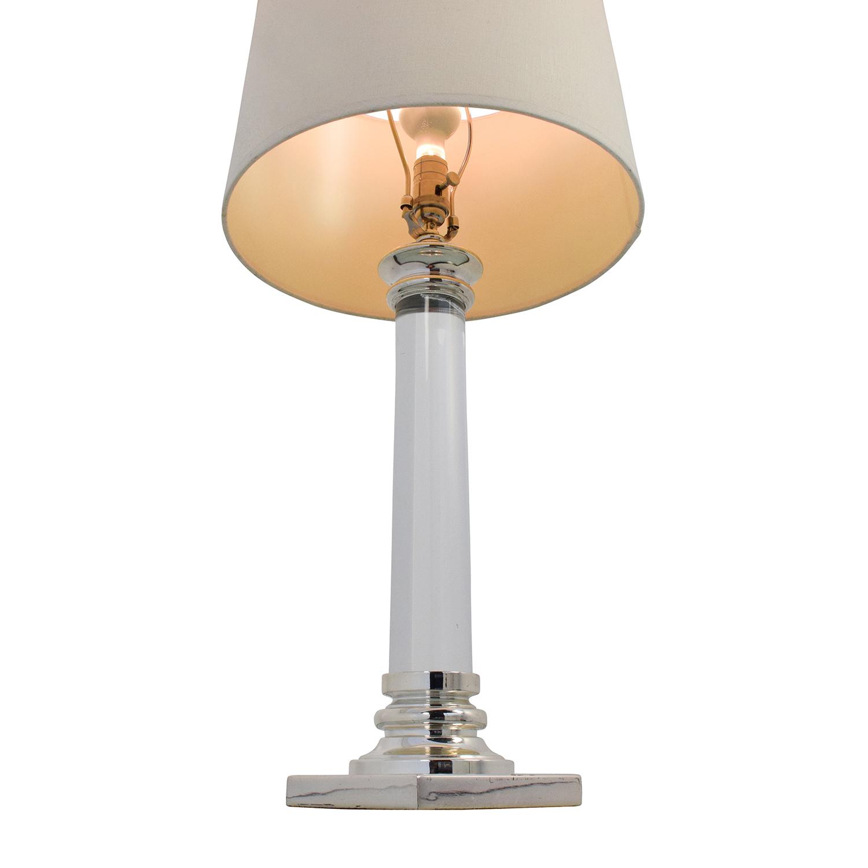 shop Restoration Hardware Glass Bedside Table Lamps Restoration Hardware