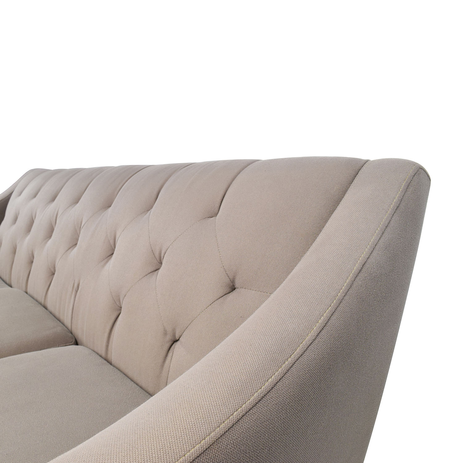 Macys Couch: Macy's Macy's Tufted Back Grey Couch / Sofas