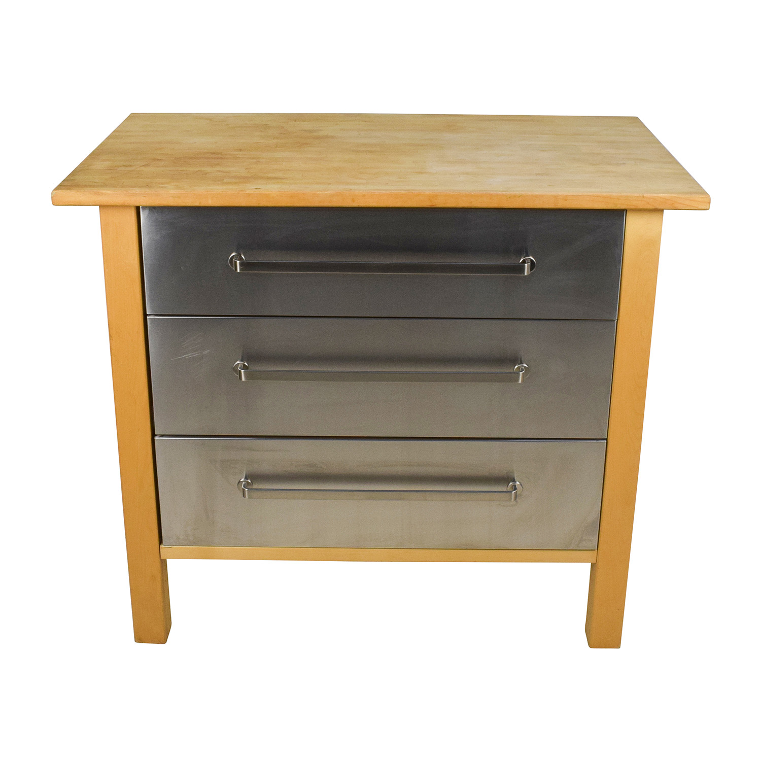 Ikea Kitchen Island Varde 62% off - ikea ikea varde kitchen butcher block island with