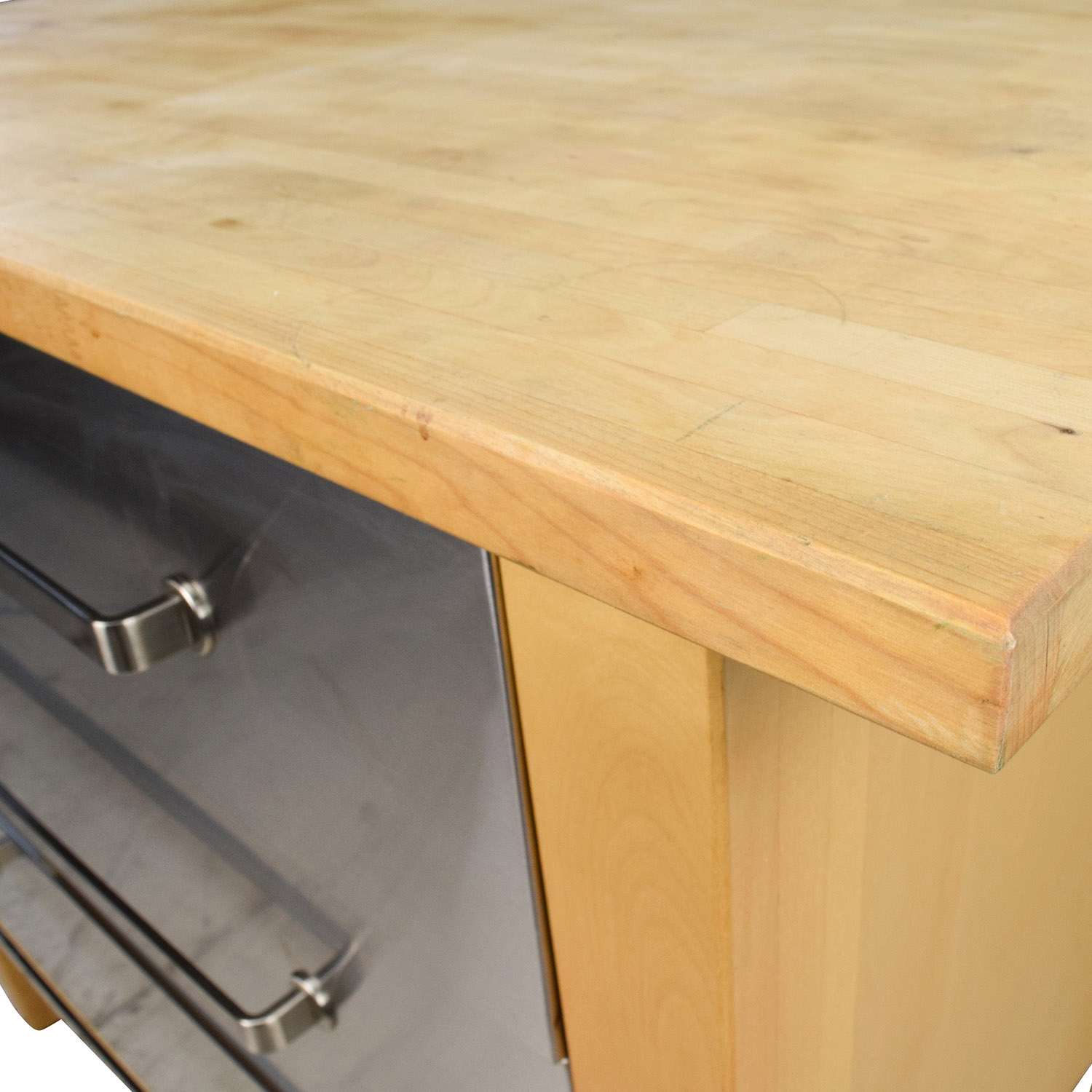 62 off ikea ikea varde kitchen butcher block island john boos kitchen islands ikea butcher block island