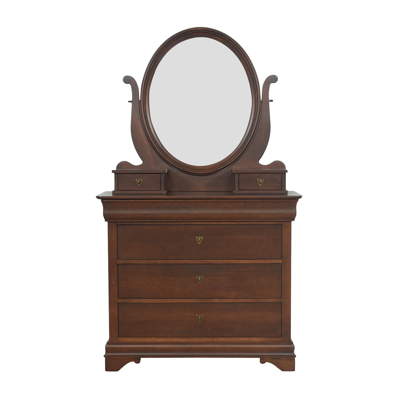Durham Furniture Durham Furniture Dresser with Mirror nj