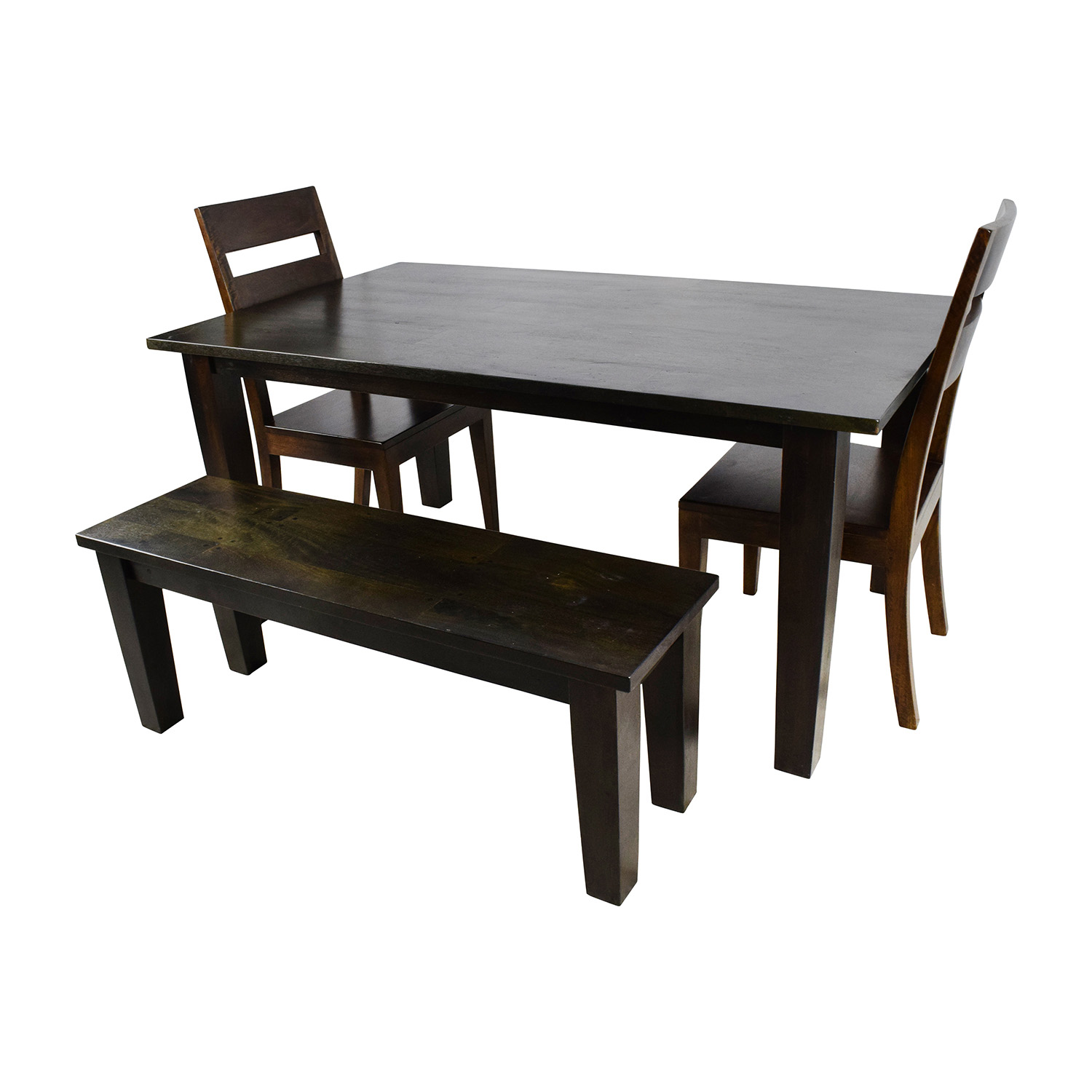 54% OFF - Crate & Barrel Crate & Barrel Basque Java Dining Table Set /  Tables