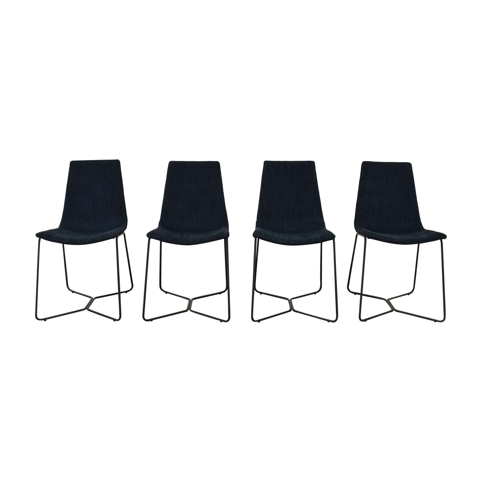 buy West Elm Slope Upholstered Chairs West Elm Dining Chairs
