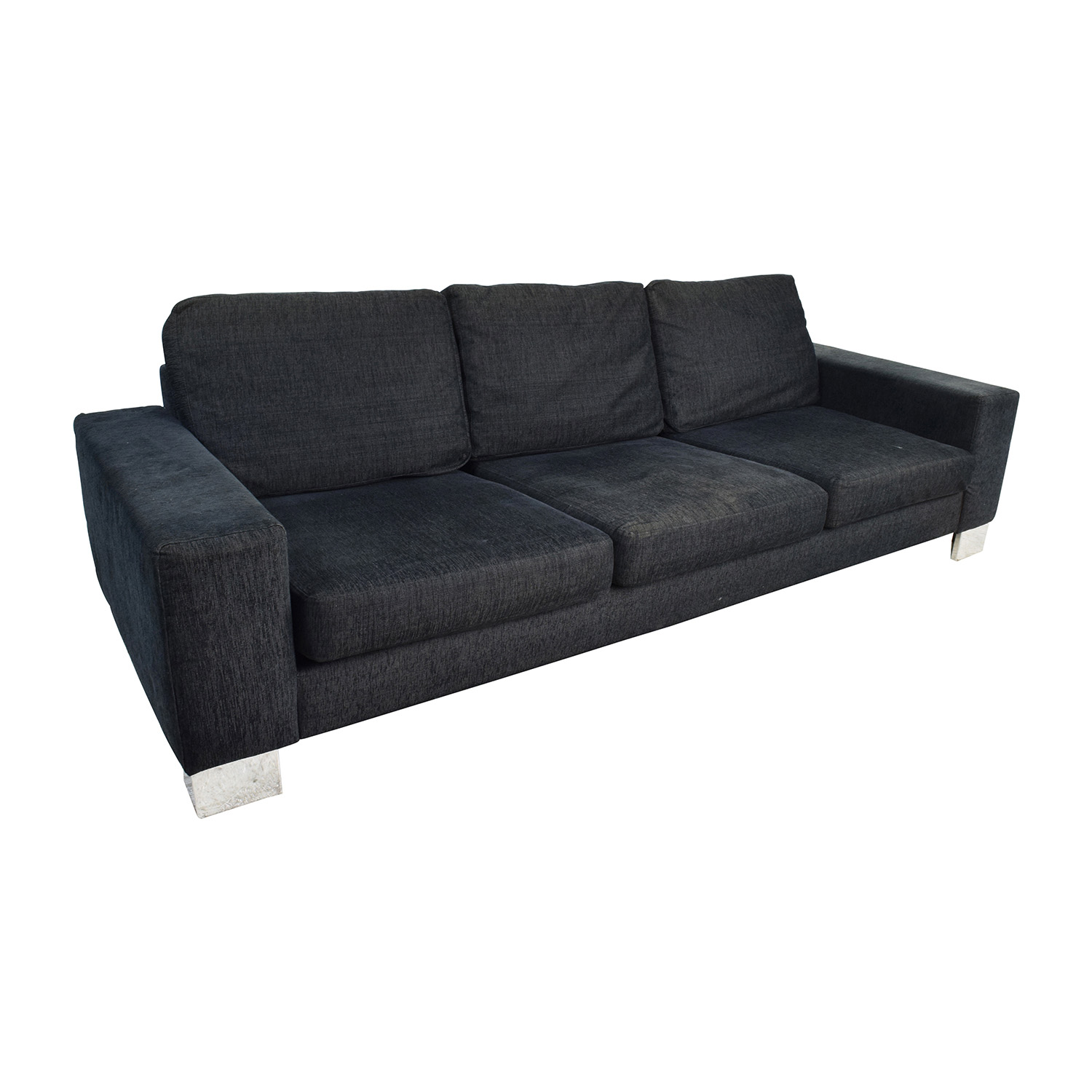 90 off boconcept boconcept cenova three seater brown sofa sofas. Black Bedroom Furniture Sets. Home Design Ideas