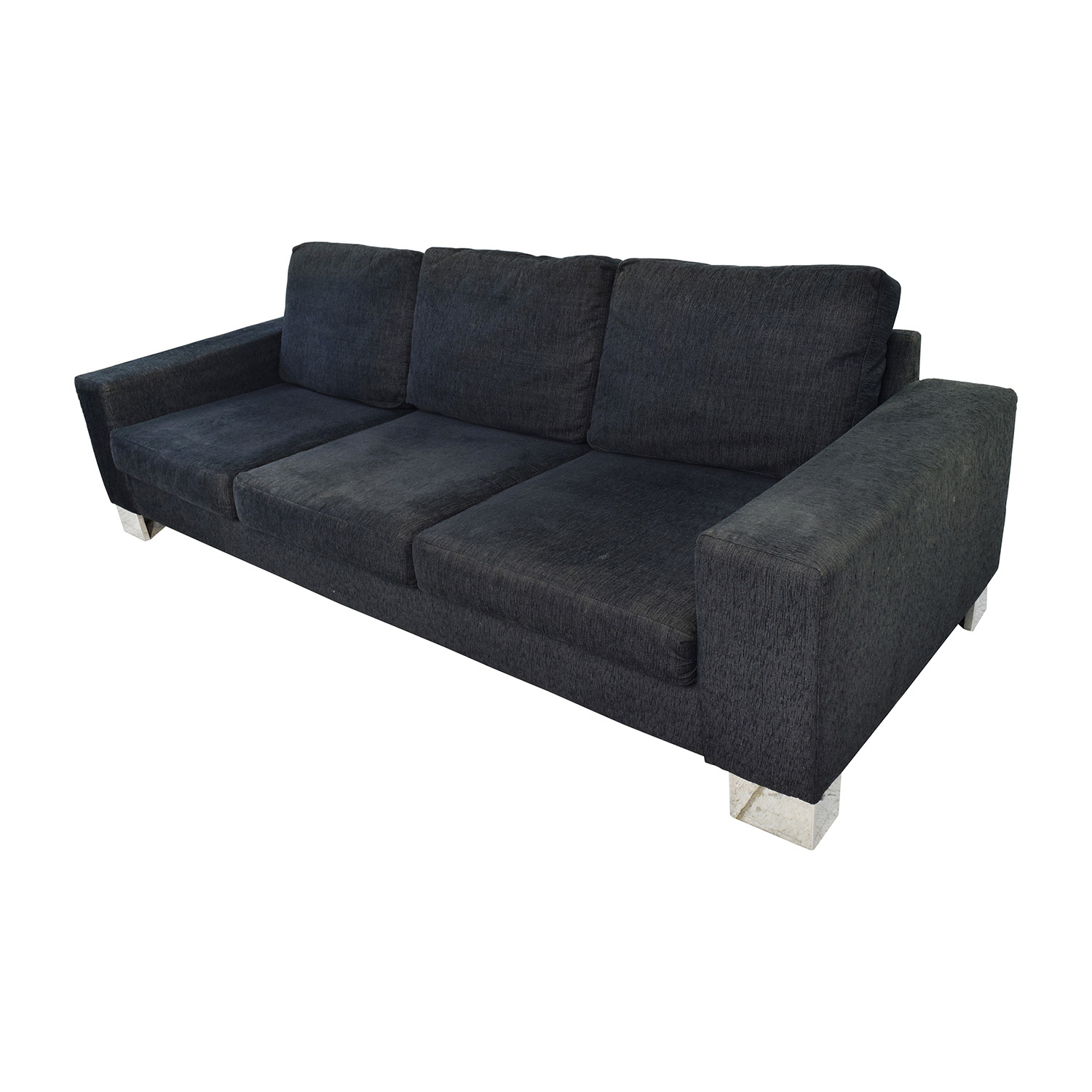 90 Off Boconcept Boconcept Cenova Three Seater Brown Sofa Sofas