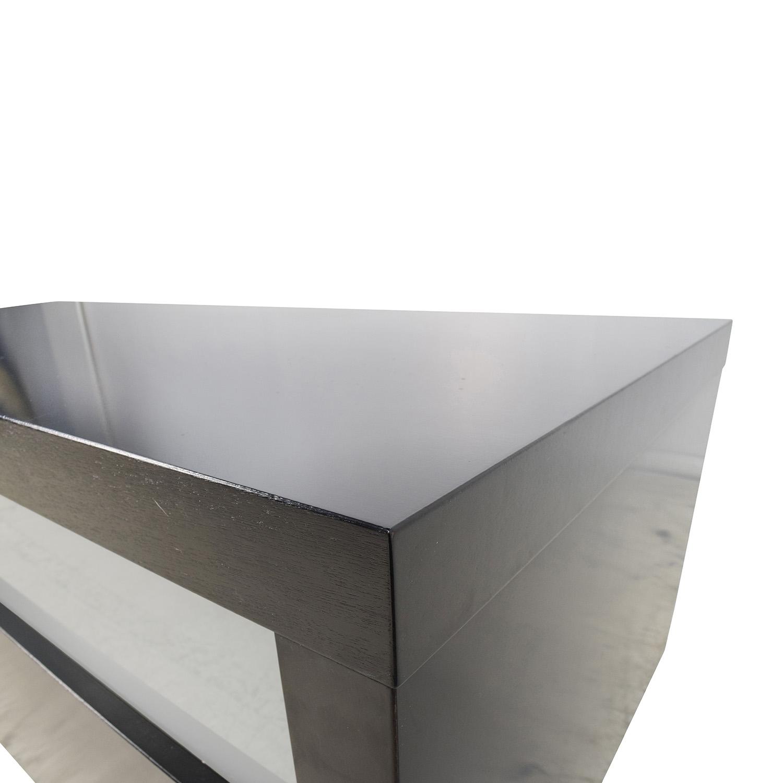 89 off bo concept boconcept black and glass tv console. Black Bedroom Furniture Sets. Home Design Ideas