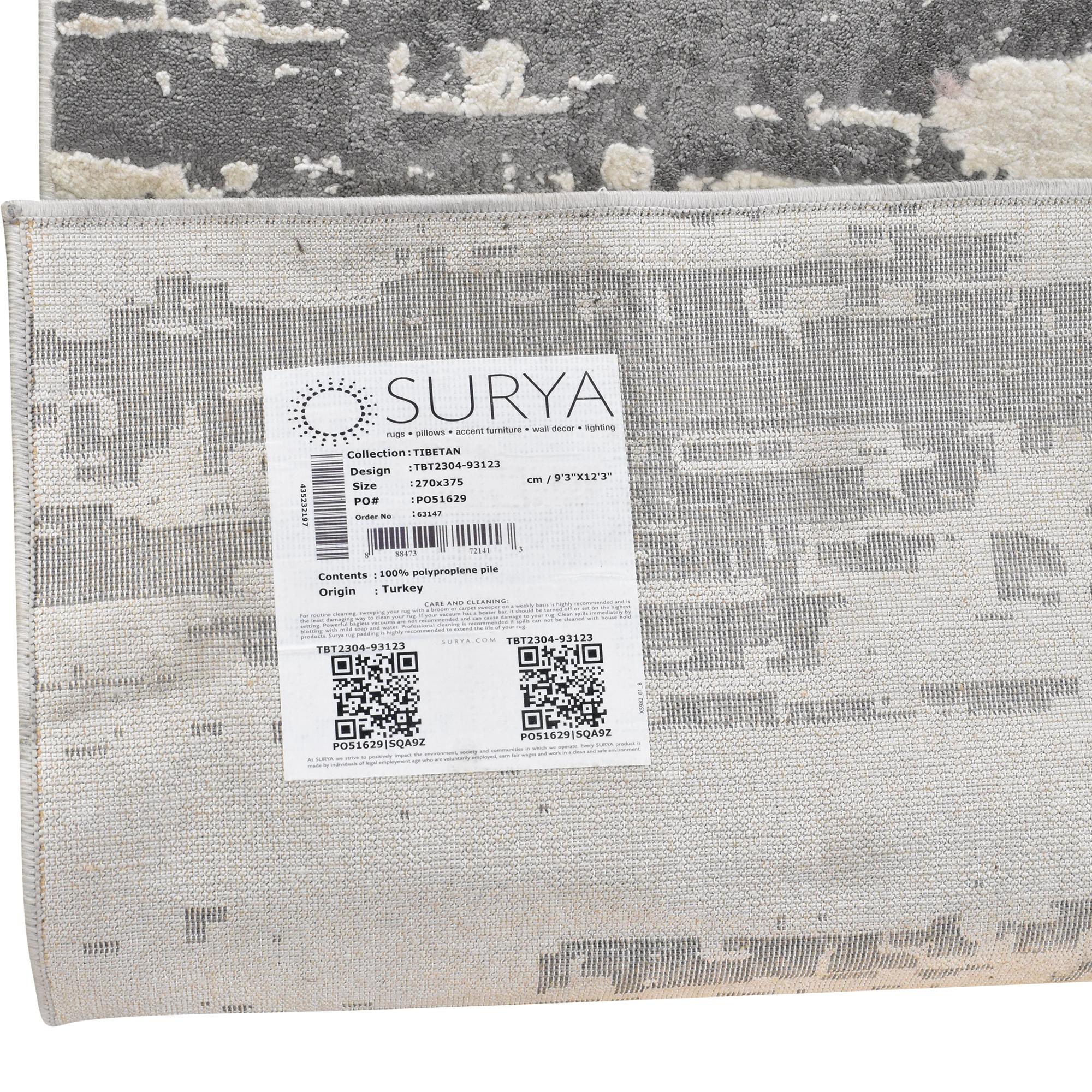 Surya Surya Tibetan Collection Area Rug dimensions