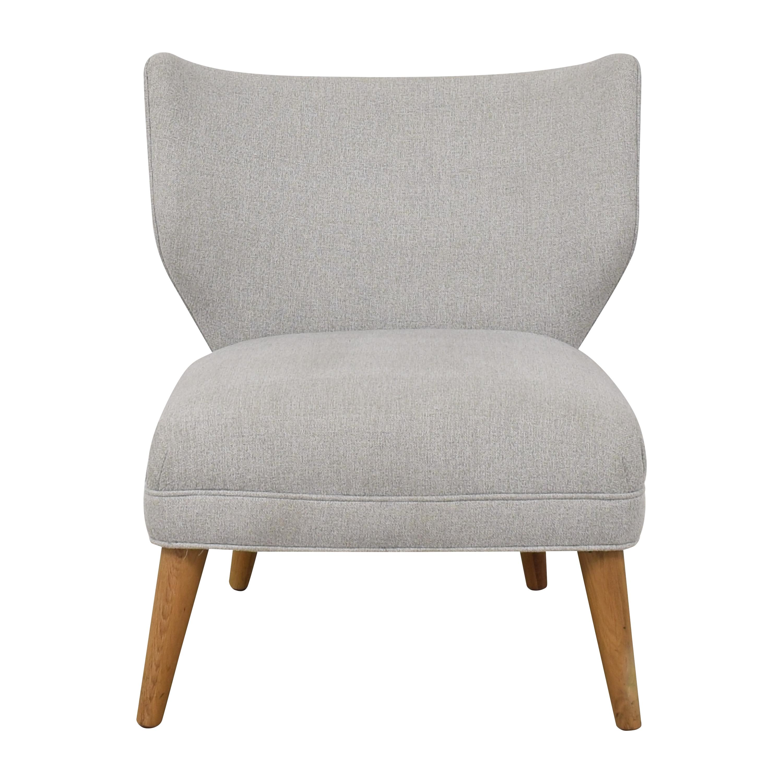 shop West Elm Retro Wing Chair West Elm Accent Chairs