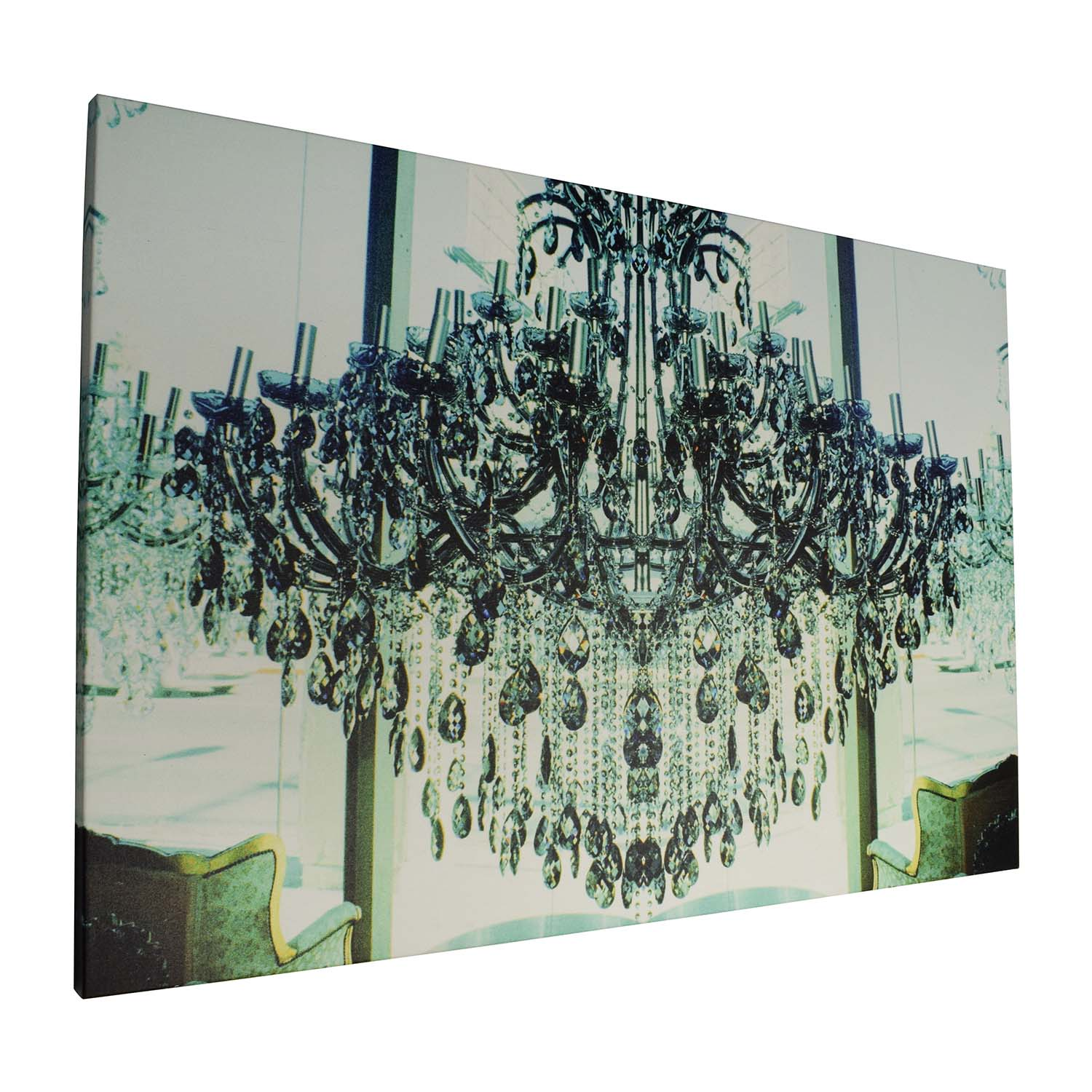 77 Off Chandelier Canvas Painting Decor