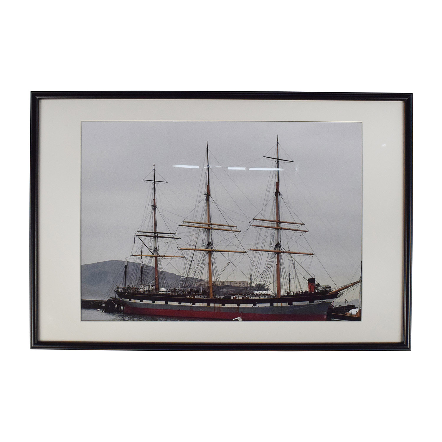 buy Large Ship Picture Frame  Wall Art