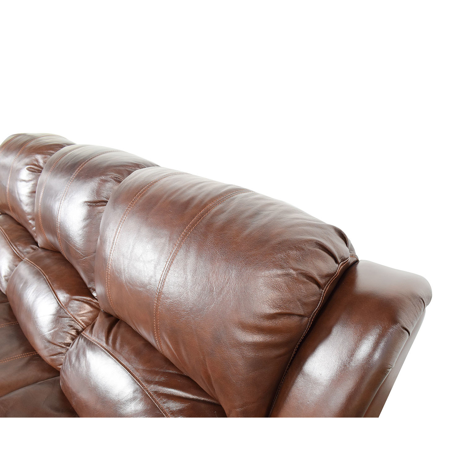 ... Raymour And Flanigan Raymour U0026 Flanigan Bryant II Leather Power Reclining  Sofa Dimensions ...