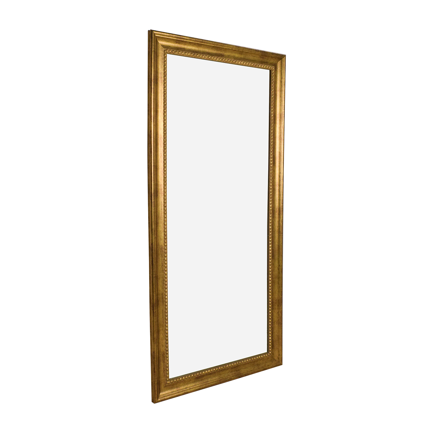 Gold Frame Standing Mirror on sale