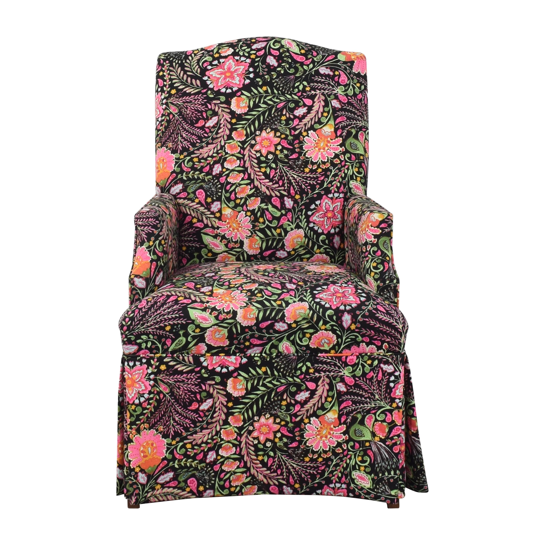 Fairfield Chair Company Custom Upholstered Host Chair / Dining Chairs