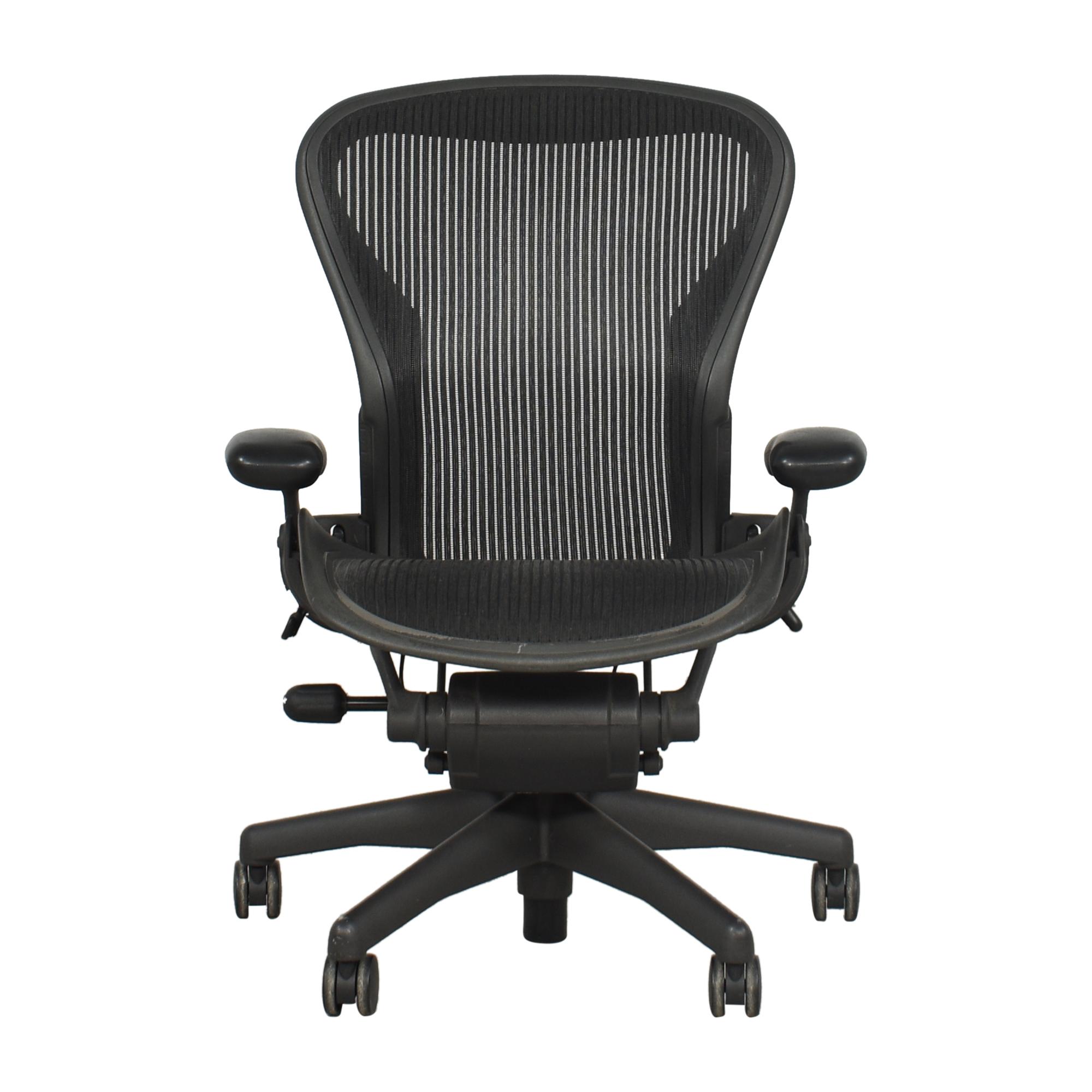 buy Herman Miller Aeron Size B Office Chair Herman Miller Chairs