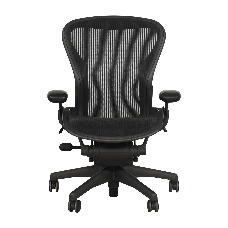 shop Herman Miller Aeron Size B Office Chair Herman Miller Chairs