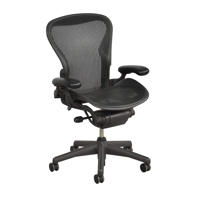 Herman Miller Herman Miller Aeron Size B Office Chair Black