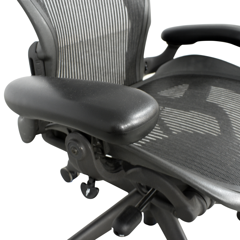 buy Herman Miller Aeron Size B Office Chair Herman Miller Home Office Chairs