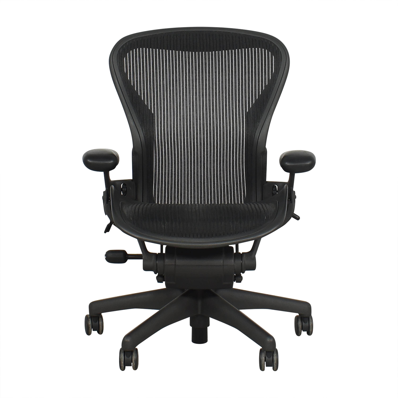 Herman Miller Herman Miller Aeron Size B Office Chair dimensions